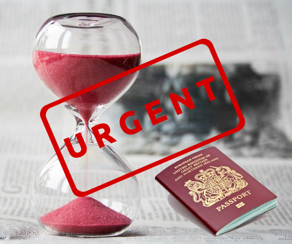 Urgent UK Passport